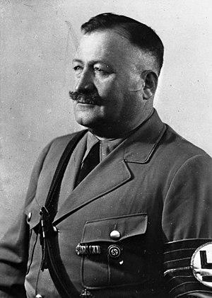 Christian Weber (SS general) - Christian Weber, 1934