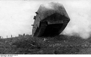 A7V - In rough terrain