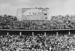 1941 German football championship - The score board of the 1941 final