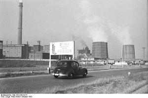 Schkopau - Schkopau Buna plant, 1953