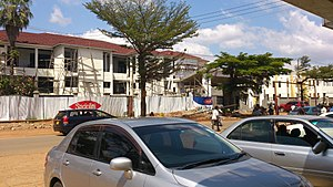 Bungoma County - Bungoma Tourist Hotel undergoing renovation in 2015