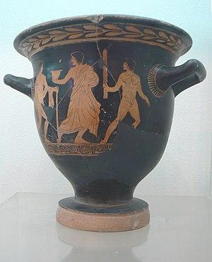 Black-figure pottery. Burgas Archeology Meseum