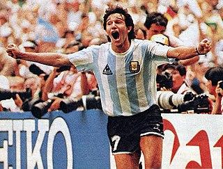 Jorge Burruchaga Argentine association football player