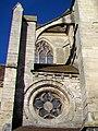 Bury (60), église Saint-Lucien, bas-côté sud-est de la quatrième travée du chœur, rosace.jpg
