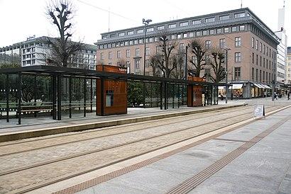 Hvordan komme seg til Byparken terminal med offentlig transport - Om stedet