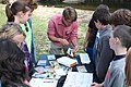 Byron Hamstead discusses stream insects with Mitchell County students (8019603297).jpg