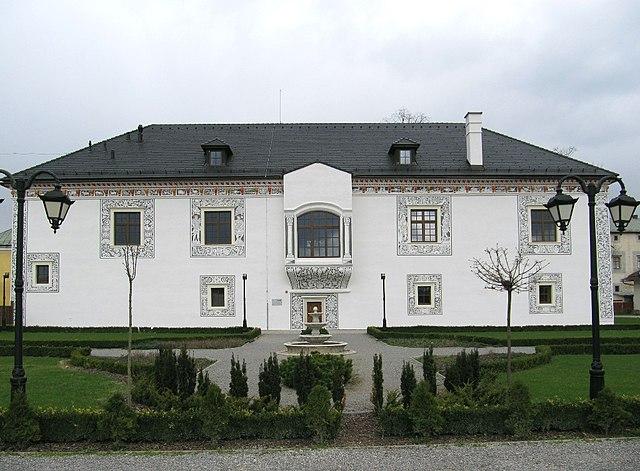 Wedding palace in Bytča