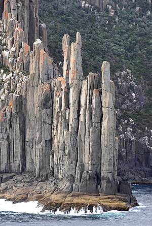 Cape Raoul - Image: CAPE RAOUL, TASMAN NATIONAL PARK