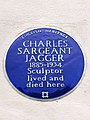 CHARLES SARGEANT JAGGER 1885-1934 Sculptor lived and died here.jpg