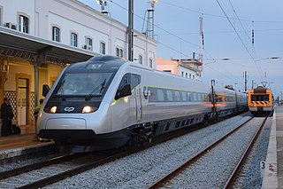 Alfa Pendular high speed train service in Portugal