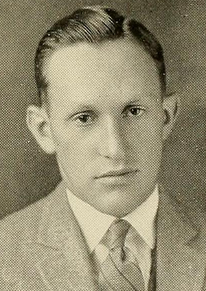 Charles McGeoch - McGeoch pictured in Index 1925, UMass yearbook
