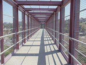 Cal State LA station - Image: CSULA Metro Silver Line Station 1