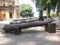 Cañones que fueron parte de la Artilleria Patriota.jpg