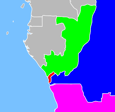 Cabinda, R. Congo, D.R. Congo, Angola