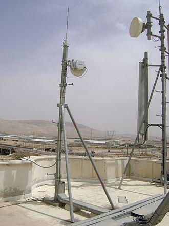 Backhaul (telecommunications) - CableFree Microwave Backhaul links deployed for mobile operators in the Middle East. These microwave links typically carry a mix of Ethernet /IP, TDM (Nx E1) and SDH traffic to connect the Cellular Base Stations (BTS) to the central sites of the cellular operator. Such microwave links used to carry 2xE1 (4Mbit/s) now carry 400Mbit/s or more, using modern 1024QAM or higher modulation schemes.