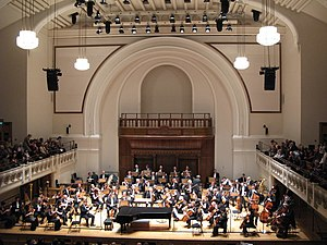 Royal Philharmonic Orchestra - The RPO at Cadogan Hall, its home since 2004