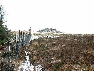 Mynydd Tarw mountain in United Kingdom