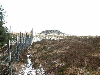 Mynydd Tarw - Cairn on Mynydd Tarw