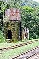 Caixa d'agua, estação ferroviária Engenheiro Lange, Morretes, Paraná, Brasil - panoramio.jpg