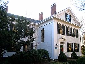 Call-Bartlett House - Image: Call Bartlett House, Arlington MA IMG 2751