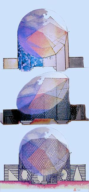 Jean-Max Albert - Image: Calmoduline Monument