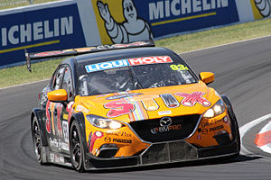 MARC Cars Australia - The MARC Mazda3 GTC which won the Invitational class at the 2016 Liqui Moly Bathurst 12 Hour.