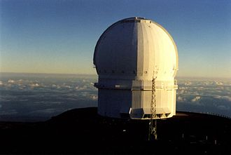 Canada–France–Hawaii Telescope - CFHT in the morning