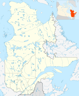 Canada Quebec location map 2.svg