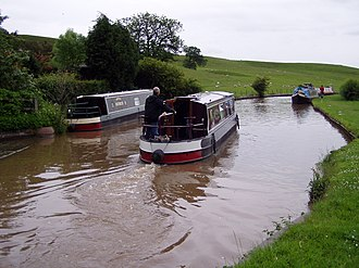 Shropshire Union Canal - Image: Canal Near Beeston