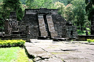 Pyramid - Candi Sukuh in Java, Indonesia