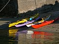 Canoes, Ballintoy Harbour - geograph.org.uk - 646734.jpg
