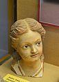 Cap de Mare de Déu xiqueta del retaule de la capella de l'antic hospital de Xàbia, museu Soler Blasco.JPG