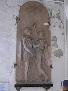 Capbreton Saint-Nicolas relief of Saint-Donatus.jpg