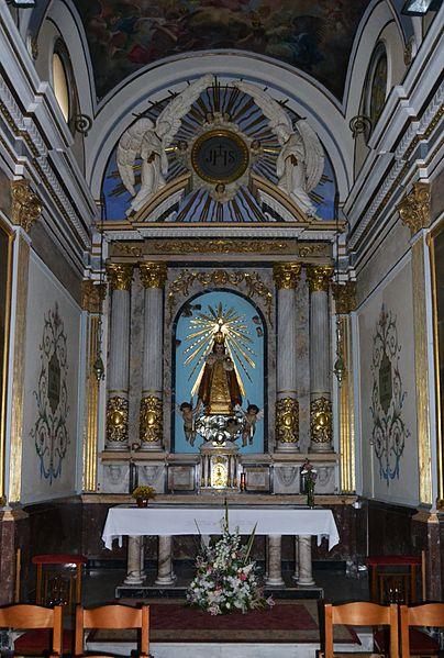 File:Capella del Nen Jesús de Praga, església de l'església de la Mare de Déu del Carme, València.JPG