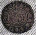 Capetingi, filippo II augusto, denaro, 1180-1223.JPG