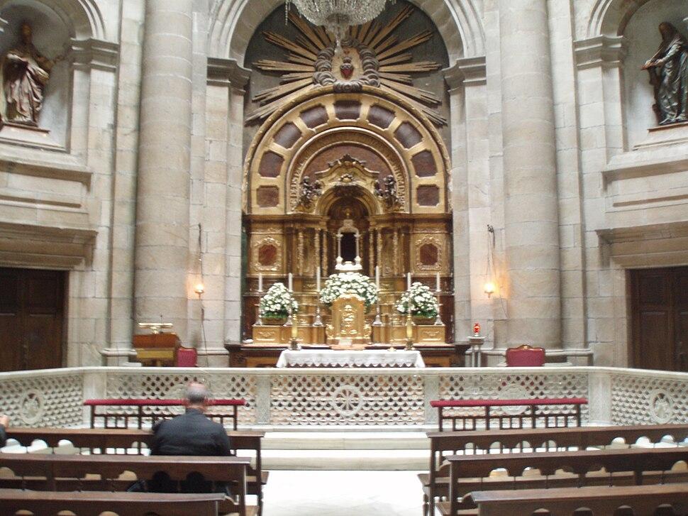 Capilla de la Comunión. Catedral de Santiago de Compostela