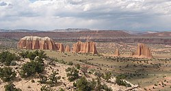 Capitol Reef National Park - Cathedral Valley
