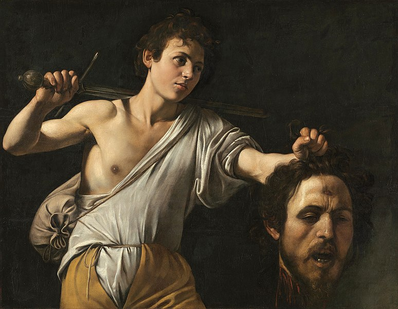 File:Caravaggio - David with the Head of Goliath - Vienna.jpg