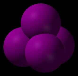 Carbon tetraiodide - Image: Carbon tetraiodide 3D vd W
