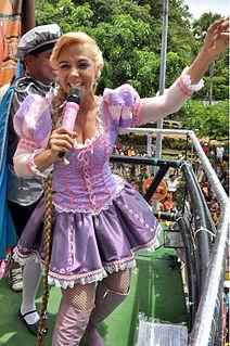 Carla Perez Brazilian dancer, television presenter and singer