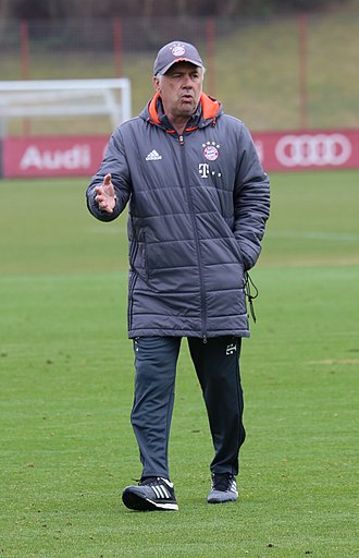 Carlo Ancelotti - Ancelotti with Bayern Munich in 2017
