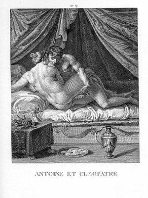 I Modi - Image: Carracci Antoine et Cleopatre