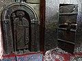 Carved Figure of Saint with Doorway - Bet Golgotha Rock-Hewn Church - Lalibela - Ethiopia (8732123352).jpg