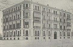 casa-palacio del Vizconde de Torre Almirante, Madrid (1901)