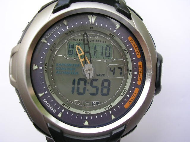 Casio PRG60 Triple Sensor Watch