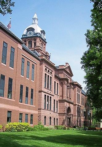 Cass County, North Dakota - Image: Cass County Courthouse Fargo