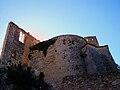 Castell de Xàtiva, torre redona i la presó.JPG