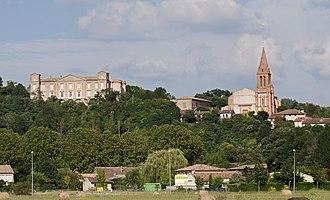 Castelnau-d'Estrétefonds - Image: Castelnau d'Estrétefonds