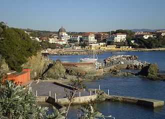 Castiglioncello - View of Castiglioncello.
