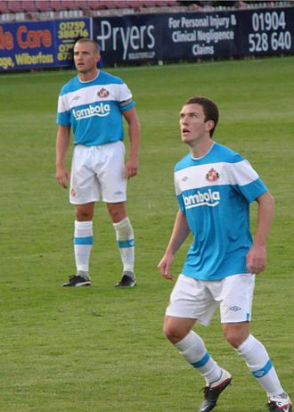 Craig Gardner - Gardner (right) and Lee Cattermole playing for Sunderland in a pre-season friendly against York City